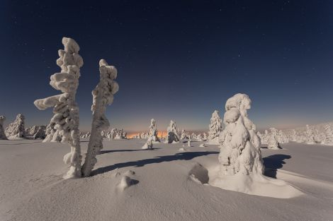 Zimní Krkonoše 2013