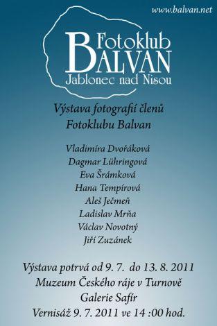 Výstava v turnovské galerii Safír - červenec 2011