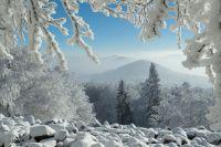 Zima v Lužických horách