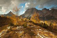 Podzimní Dolomity