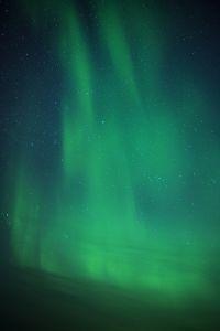 Polární záře v jižním Norsku